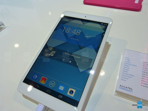 Alcatel One Touch Pop 8 tablet