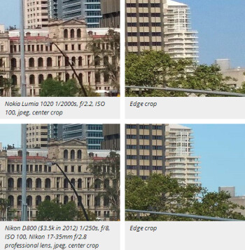 Lumia 1020 and iPhone 5s get compared with DSLRs, Nokia's camera deemed years ahead of the iPhone