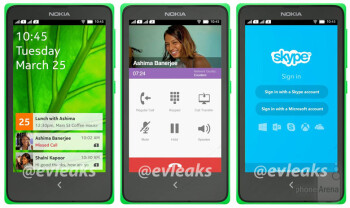 Leaked pics show Nokia Normandy Android phone as a dual-SIM device