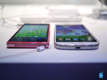 Sony Xperia Z1 Compact vs Samsung Galaxy S4: first look