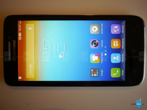 Lenovo S650 hands-on