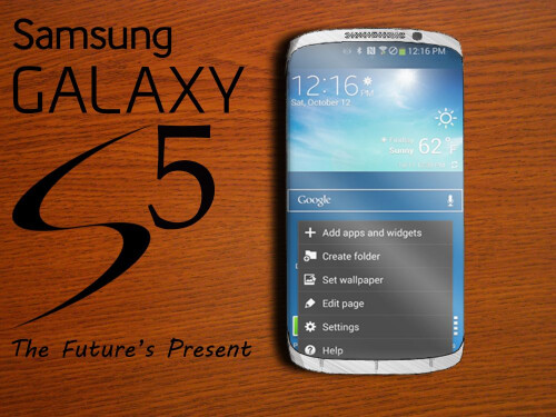 Galaxy S5: review of design concepts