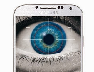 Samsung is mulling the use of iris scanner in the Galaxy S5