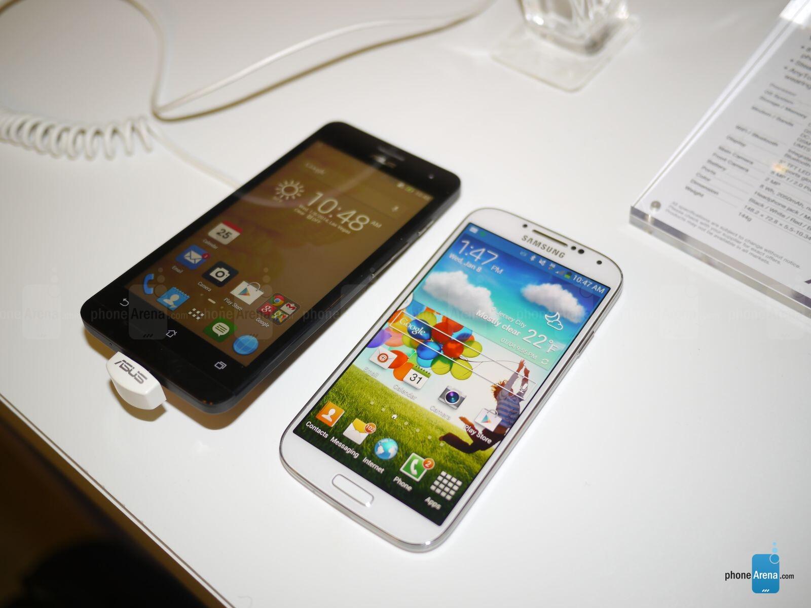 Asus ZenFone 5 vs Samsung Galaxy S4: first look ...