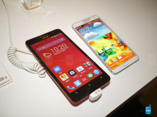 Asus ZenFone 6 vs Samsung Galaxy Note 3
