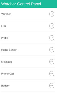 Watcher for BlackBerry 10 screenshots