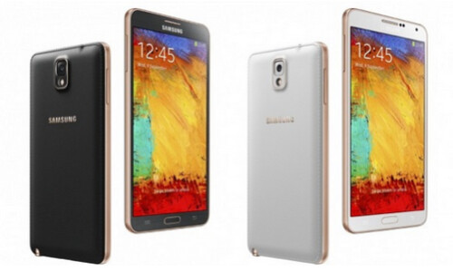 Rose Gold version of the Samsung Galaxy Note 3 is coming to Verizon