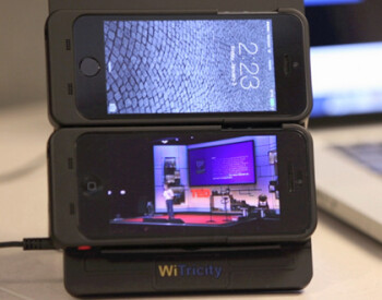 Wireless charging system for Apple iPhone 5s and Apple iPhone 5 announced by WiTricity