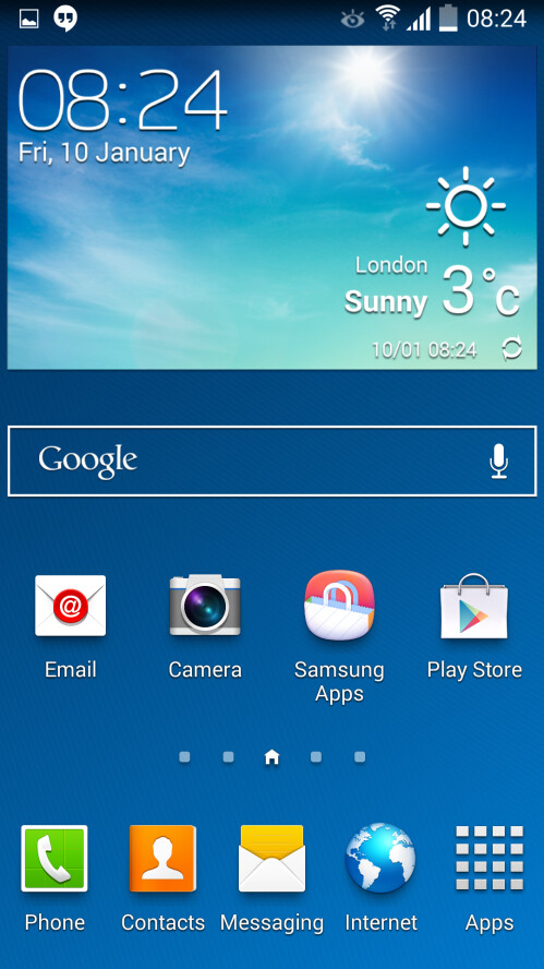 Android 4.4 KitKat on Samsung Galaxy S4