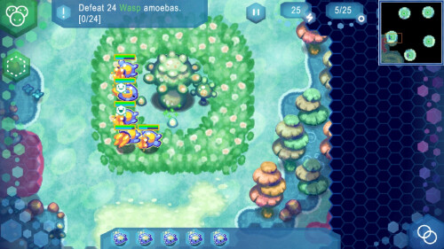 Amoebattle for Android screenshots