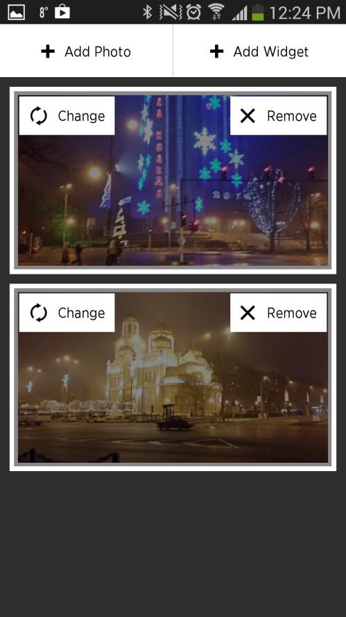 Customizing a widget