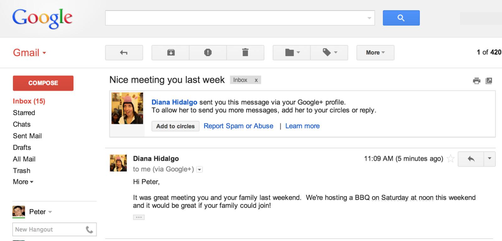 how to send random emails