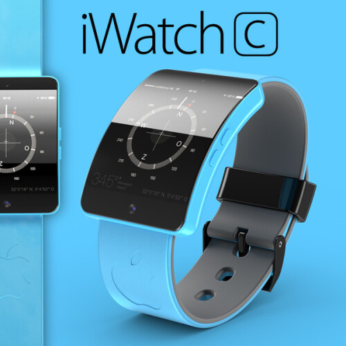 """Apple iWatch """"S"""" and """"C"""" concept renders look like mini iPhones"""