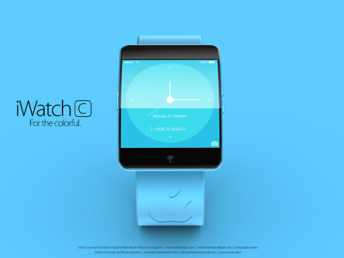"Apple iWatch ""S"" and ""C"" concept renders look like mini iPhones"