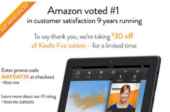 Take $30 off Amazon Kindle Fire tablets for a limited time