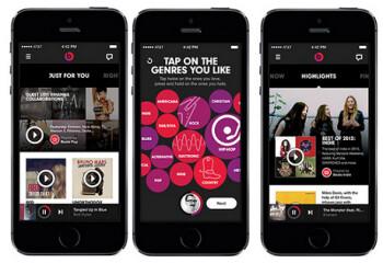 Screenshots from Beats Audio on iOS