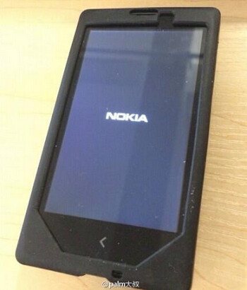 Leaked photo of the Nokia Normandy