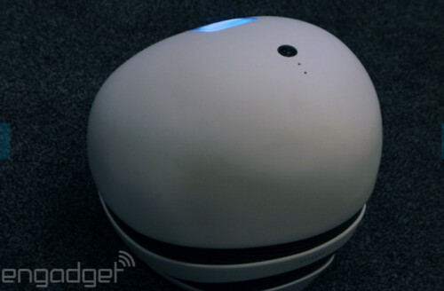 Keecker is an Android powered projector that follows you around the house