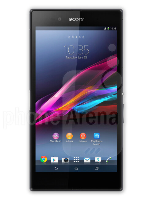 The 6.44-inch Sony Xperia Z Ultra