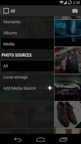 Screenshots from CyanagenMod's GalleryNext beta