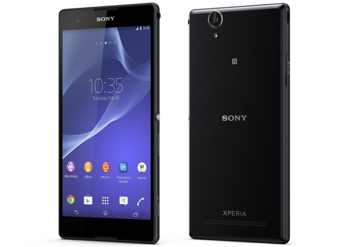 Sony announces the 6-inch Xperia T2 Ultra and T2 Ultra dual phablets