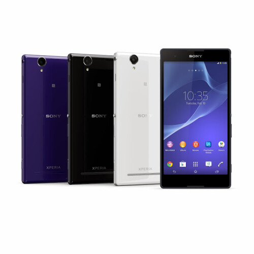 The 6-inch Sony Xperia T2 Ultra