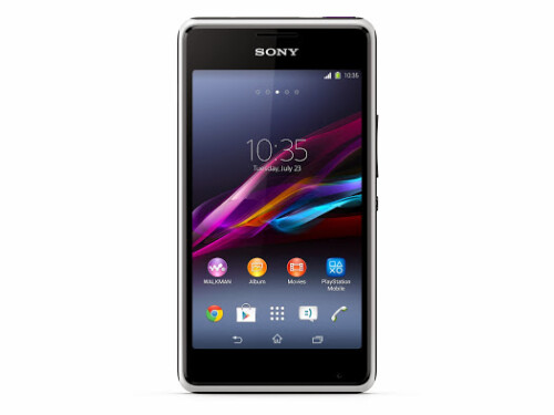 Sony Xperia E1 images