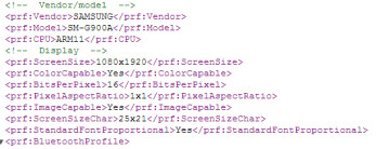 Alleged Galaxy S5 SM-G900A version for AT&T pops up in a user agent profile