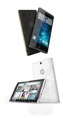 HP Slate 6 (up) and Slate 7 (down) VoiceTabs