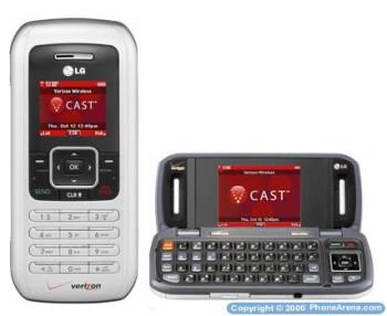 Verizon Wireless officially launches LG enV VX9900, White KRZR