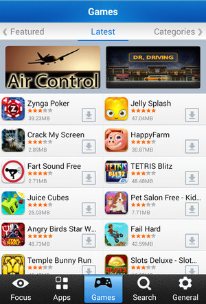 Mobomarket apk cho android