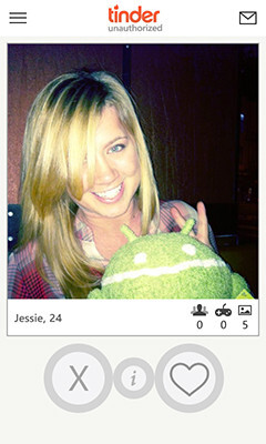 tinder dating for windows phone