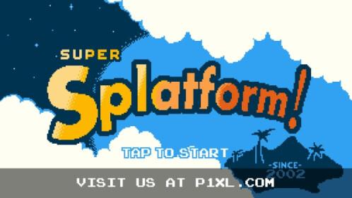 Super Splatform for iOS screenshots
