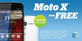 AT&T's Moto X and LG G2 now completely free on contract (limited time offer)