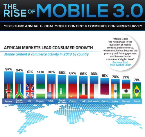MEF Global Consumer Survey 2013 infographic