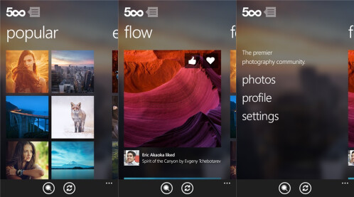 500px - Windows Phone - Free