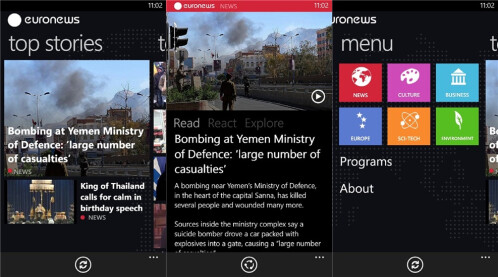Euronews - Windows Phone - Free