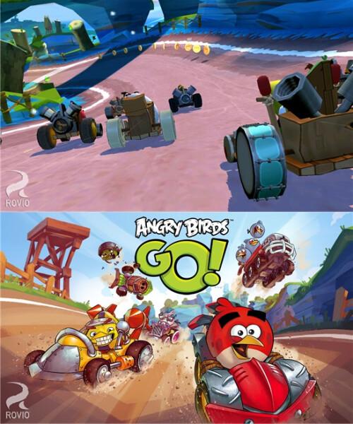 Angry Birds Go - Windows Phone - Free