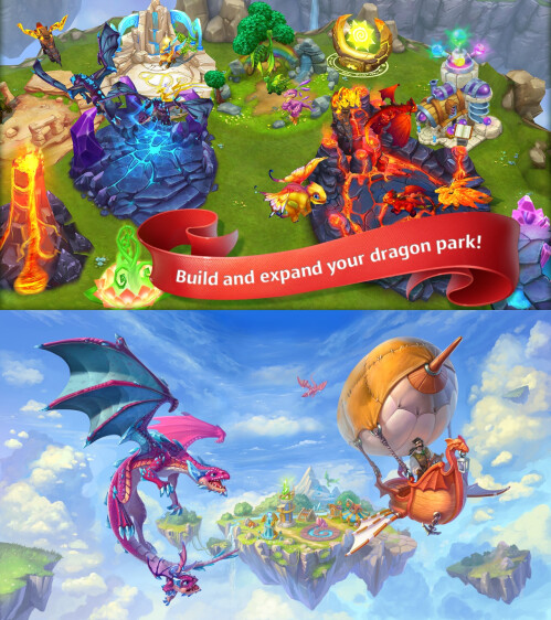 Dragon's World - Android, iOS - Free