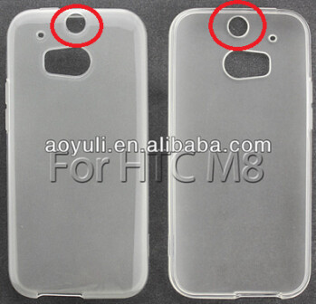 New case for HTC M8 reveals an opening for a fingerprint scanner