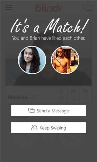 Super-dev Rudy Huyn brings 6tinder to Windows Phone