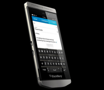 Win a BlackBerry Porsche Design P'9982