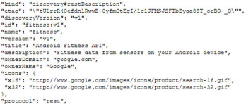 Mysterious Android fitness API found in Google code
