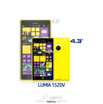 Is Nokia going to launch a mini version of its Nokia Lumia 1520 phablet?