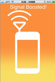Signal Booster will increase the voice and data signal of your jailbroken Apple iPhone