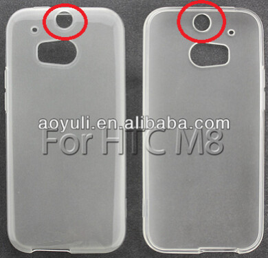 Alleged HTC M8 cases, found on Alibaba