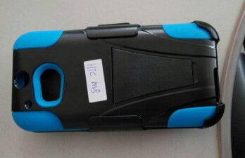 More alleged HTC M8 cases reveal cutouts for either a fingerprint sensor or a second camera