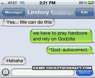 13 funniest autocorrects of 2013: damn you, smartphone