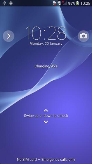 Sony D6503 / Sirius UI screenshots