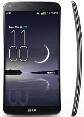 AT&T's curved LG G Flex priced at $299, pre-orders begin on January 24